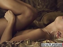 (Vicki Chase) gets turned on watching (Jessie Volt, Erik Everhard) fuck - Digital Playground