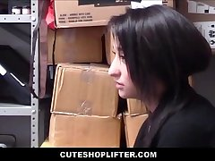 Cute Teen Latina Worker Isabella Nice Caught Filching From Her Work Fucked By Anchor Guard