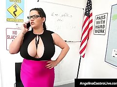 Ms Angelina Castro &amp_ Ms Sara Jay Punish Student Gia Love!