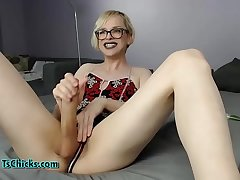 I know you want my big tranny cock!