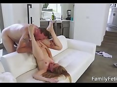 Daughter punished by her stepdad and mom-FREE Full Videos at FamilyFetish.com