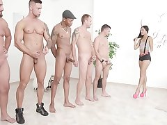 Facialized with TAP May Thai 5on1 Balls Deep Anal, DAP &amp_ TP