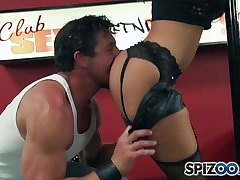 Spizoo - Milf Ava Adams is punished by Wolverine, big boobs &amp_ huge cock