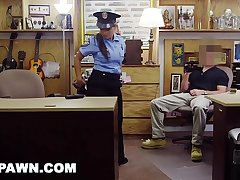 XXX PAWN - Juicy Latin Say-so Officer No Speaky English, Desperate For Money!