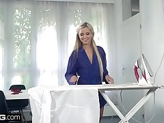Glamkore - Czech Blonde Lola Blond gets fucked doggystyle