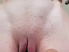 Father caught the ungentlemanly masturbating and co-wife with her