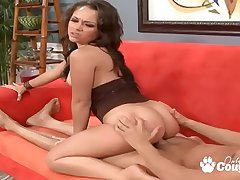 Kristina Rose Sits Her Booty Down On A Lucky Face