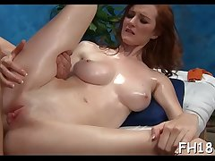 Hawt sizzling gets a pussy massage then screwed hard!