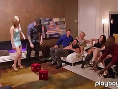 Real amateur couples swinger party in a realityshow
