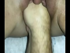 Wet and played with pussy