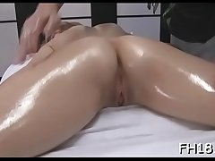 Sexy cosset gets drilled hard together with gives a massage!