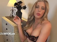 Samantha Saint smoking (JS)