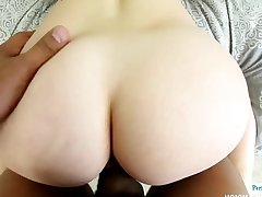 Amateur cutie pussyfucked and filmed