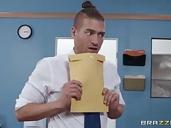 Mixed Message Mailboy - Brittany Andrews - FULL SCENE on http://bit.ly/BraSex
