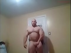 video.beefymuscle.com - Monster hulk wanks! [tags: muscle, bodybuilder, hulk, wanking, jerking, masturbation, beefy, massive, thick bear, musclebear, hunk, cum, nude, naked, cock, dick, posing, flexing, daddy]