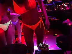 We are out in a ladyboy gogo in Pattaya