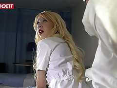 Hot Nurses Vienna Black &amp_ Kenzie Reeves Blackmail Bang With Horny Doctor